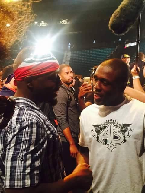 Wyclef Jean & Andre Berto