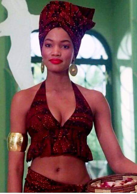 Garcelle Beauvais/Coming to America movie.